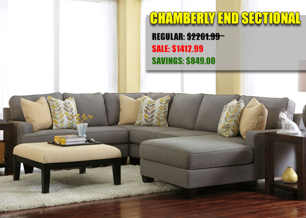 Chamberly End Sectional